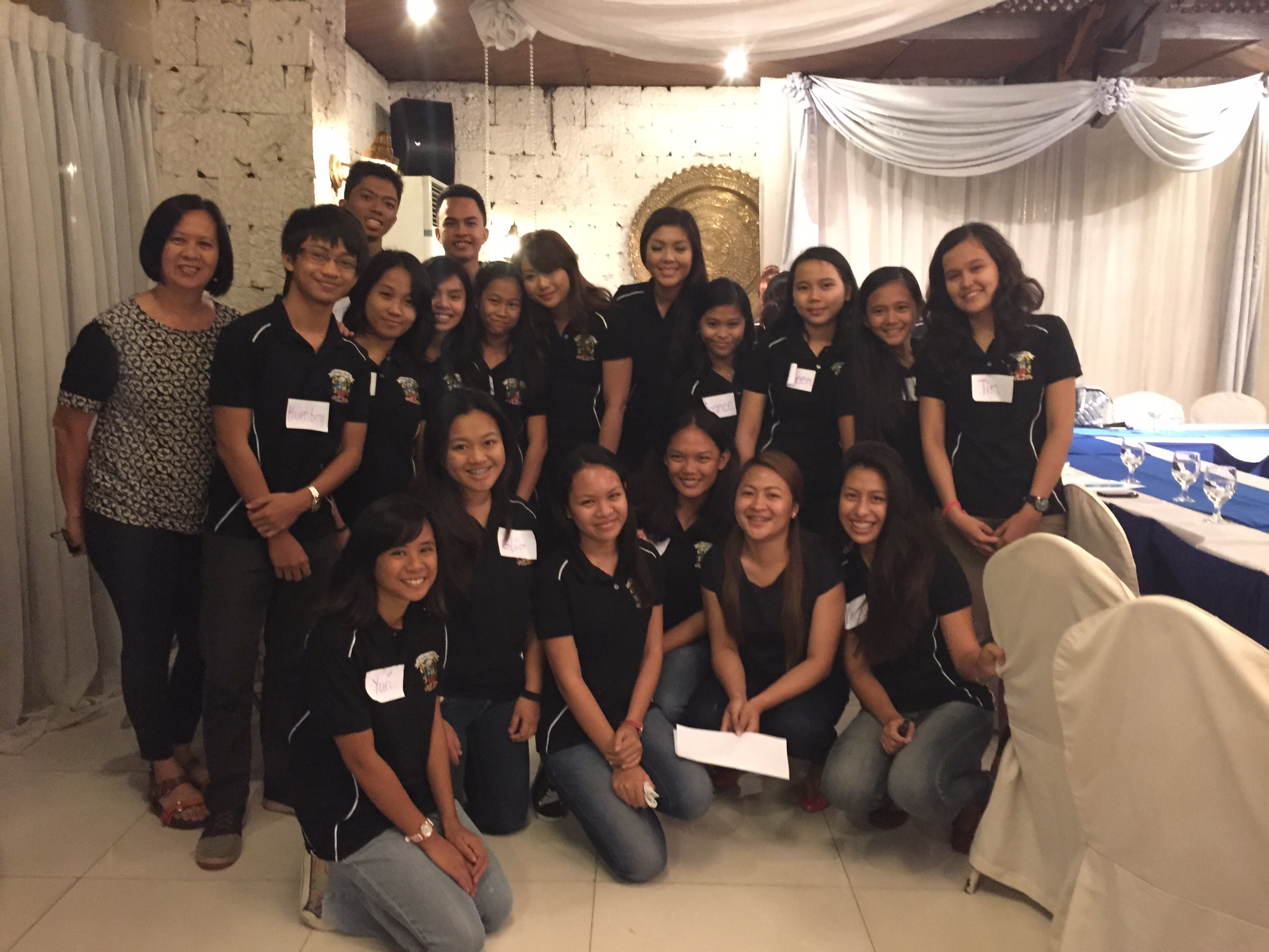 Breakfast Meeting with Iloilo Scholars