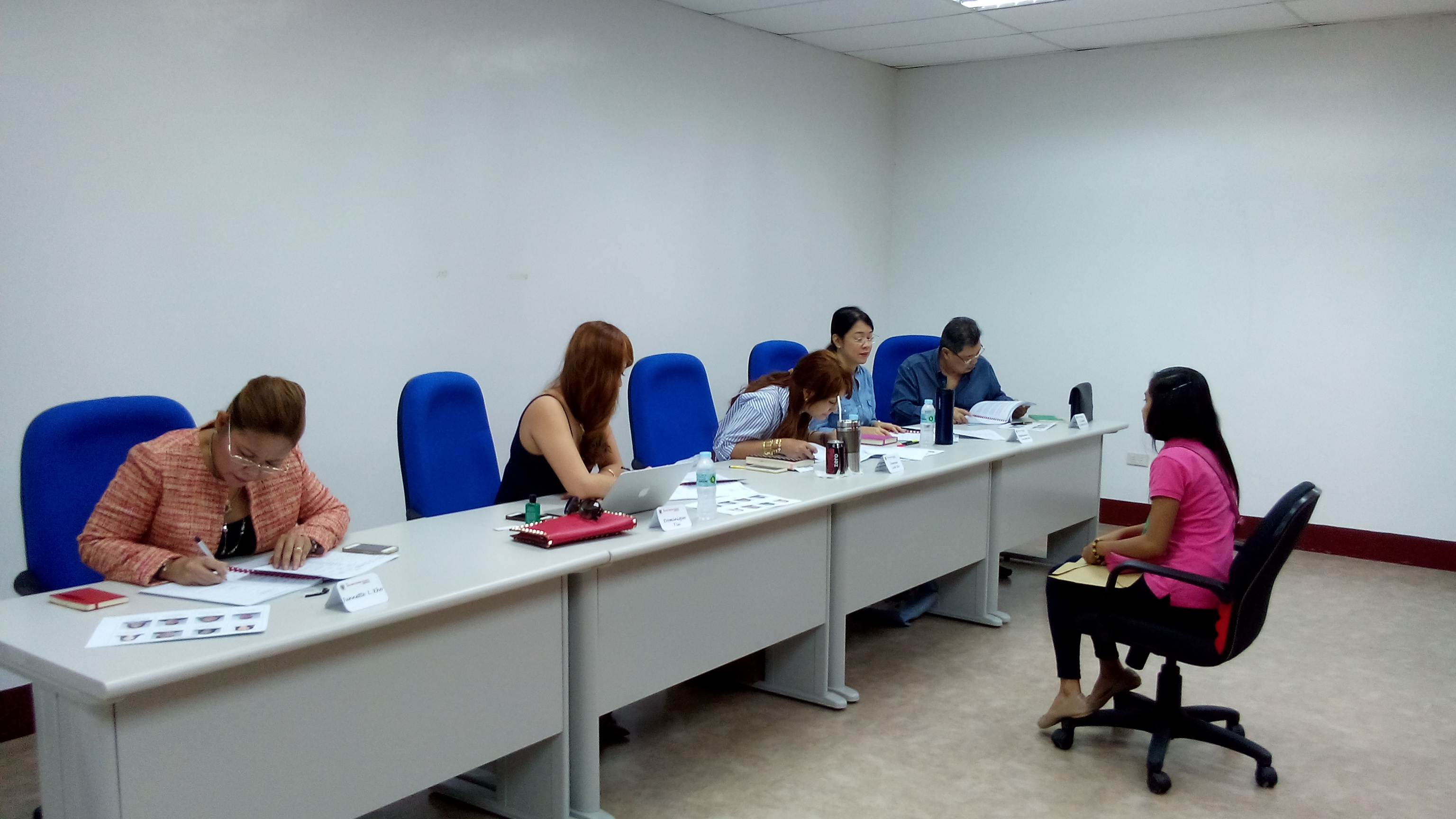 Interview of Luzon Scholarship Applicants (S. Y. 2015-2016)